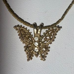 Gorgeous Signed Giovanni Butterfly Necklace